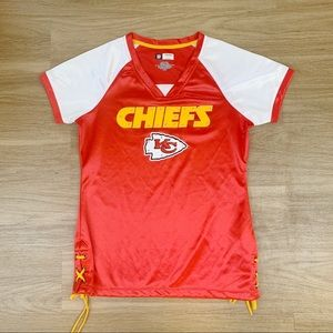 Kansas City Chiefs small women's shirt sz small